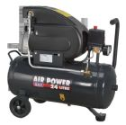 Sealey Compressor 24ltr Direct Drive 2hp